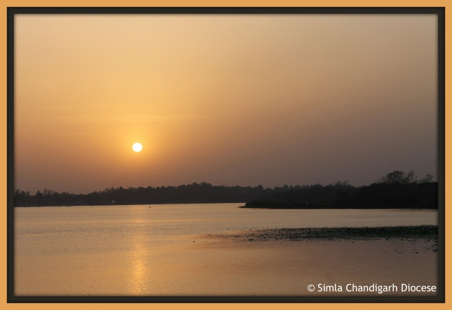 Simla Chandigarh Diocese_Sunset by the lake